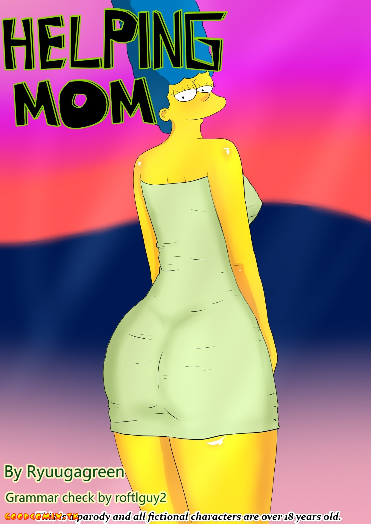 Goodcomix The Simpsons - [Ryuugagreen] - Helping Mom
