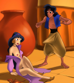 Aladdin — [CartoonValley] — Jasmine Is Playing With The Magical Lamp