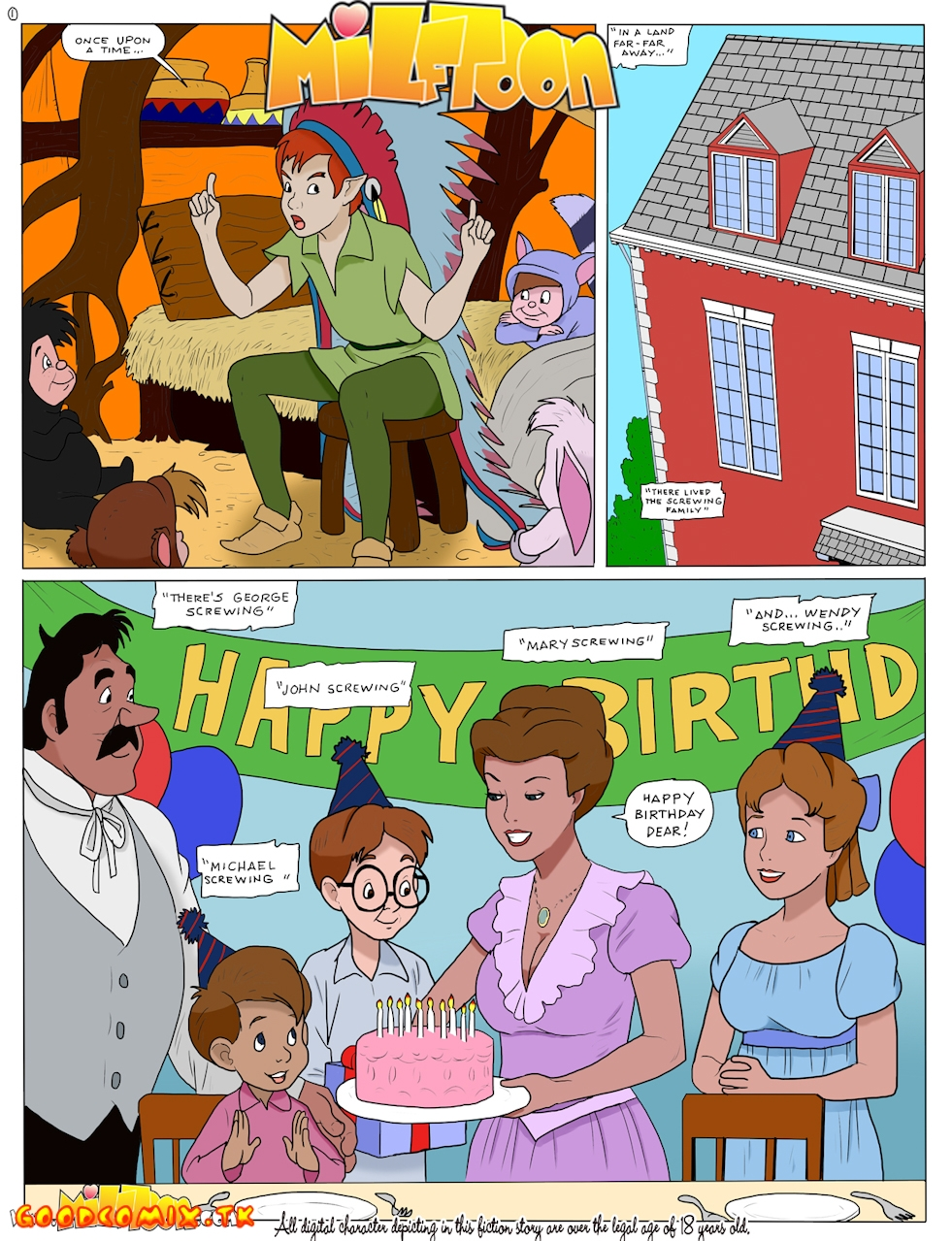 Goodcomix Peter Pan - [MilfToon] - Mary And Wendy Go Pro