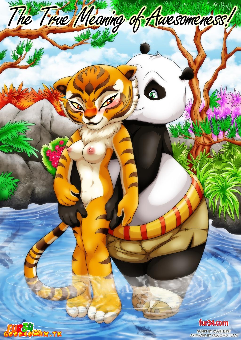 Goodcomix Kung Fu Panda - [Palcomix][Fur34] - The True Meaning of Awesomeness!