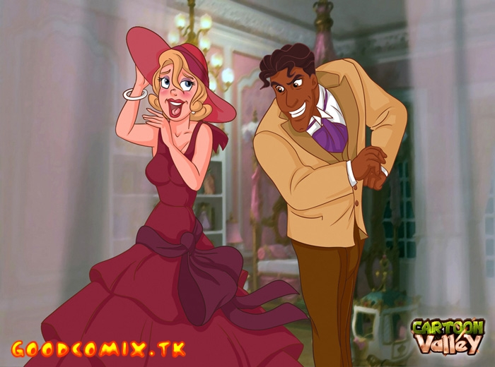 Goodcomix The Princess And The Frog - [CartoonValley][NEW] - Hot Blonde Lottie And Prince Naveen Cum Together!
