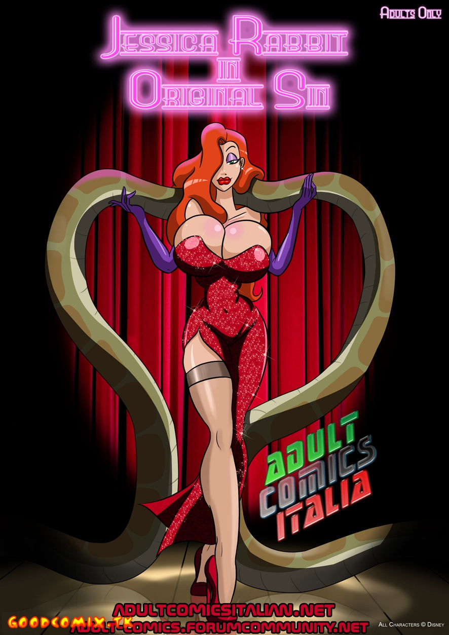 Goodcomix Who Censored Roger Rabbit - Jessica Rabbit In Originale Sim