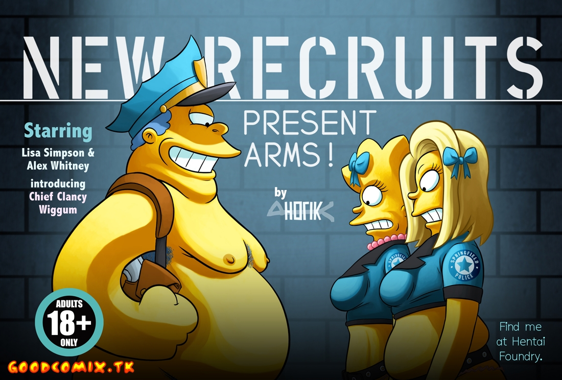 Goodcomix The Simpsons - [Yb-Ho7ik] - New Recruits