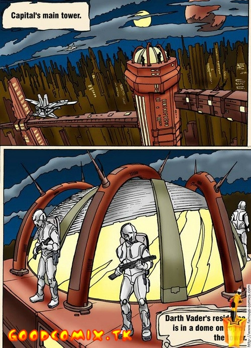 Goodcomix.tk Star Wars - [Famous-Comics] - Vader's Toy