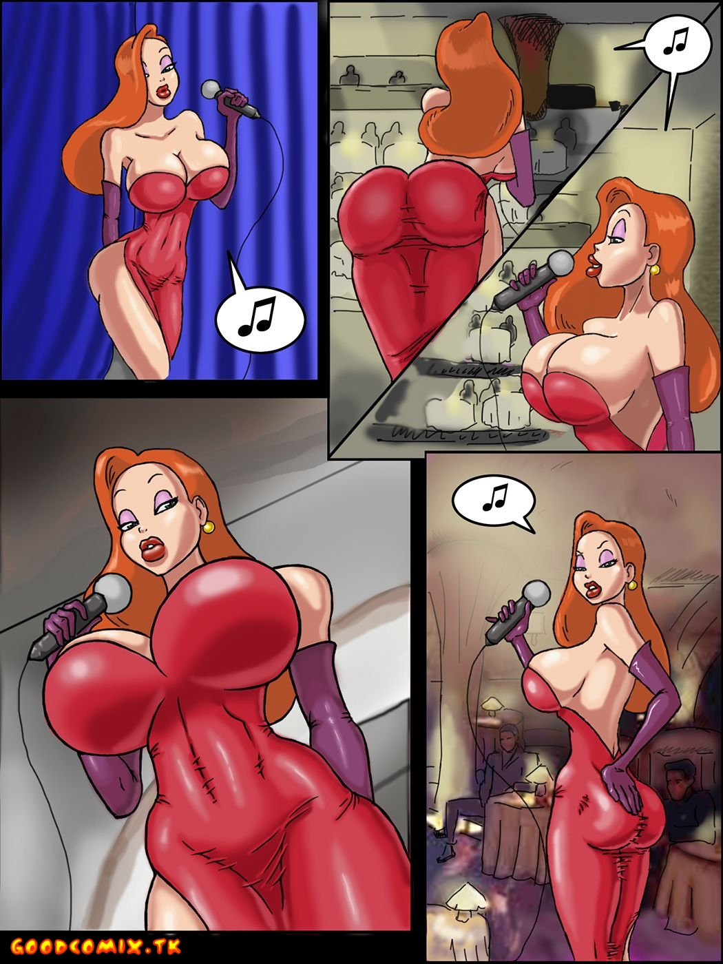 Goodcomix Who Censored Roger Rabbit - [Thetrigger123412] - Beauty and the Bouncer
