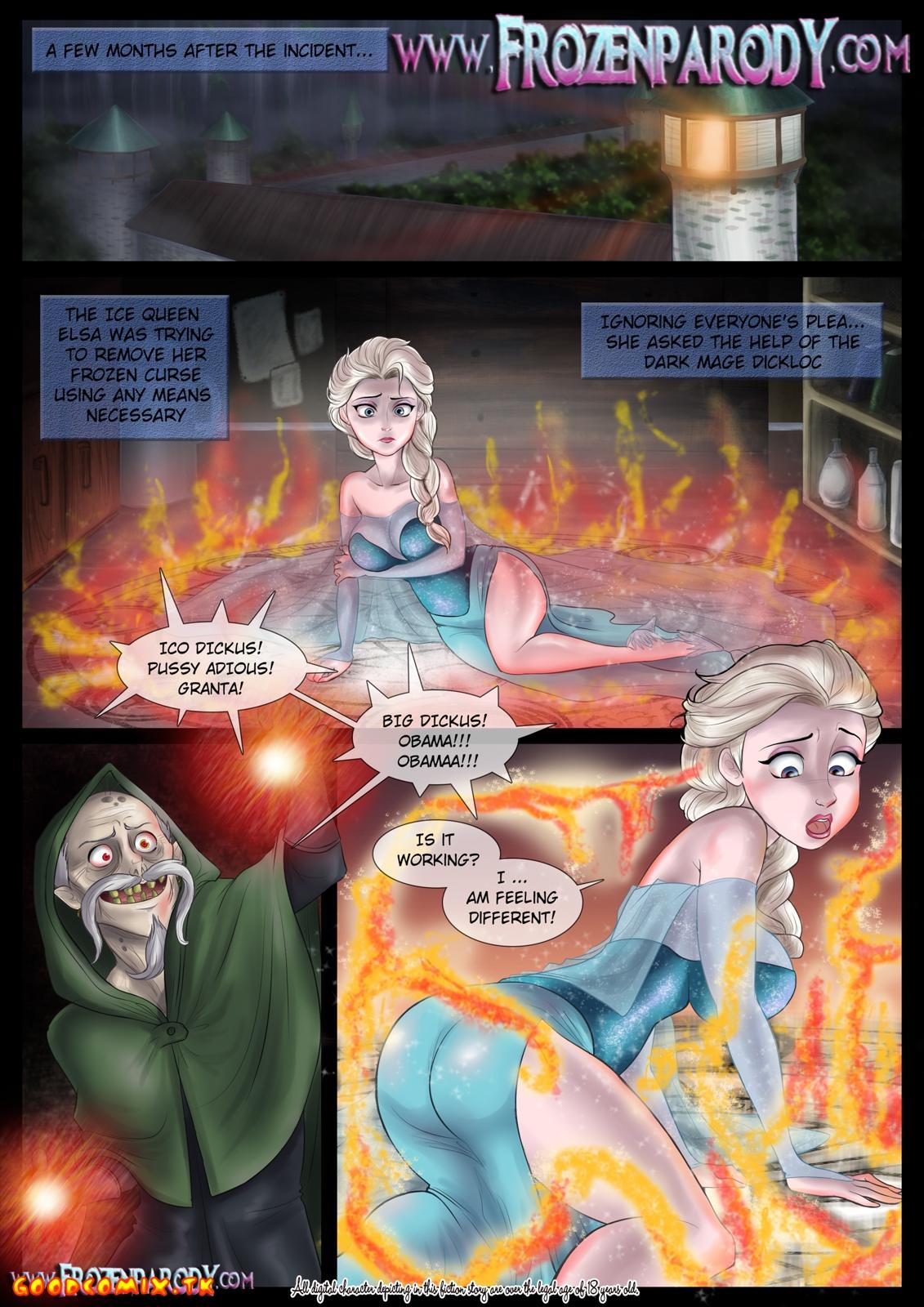 Goodcomix.tk Frozen - [Frozen Parody] - Complete  Transformation
