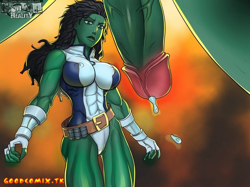 Goodcomix.tk The Incredible Hulk - [Cartoon Reality] - Hulk Vs. She-Hulk
