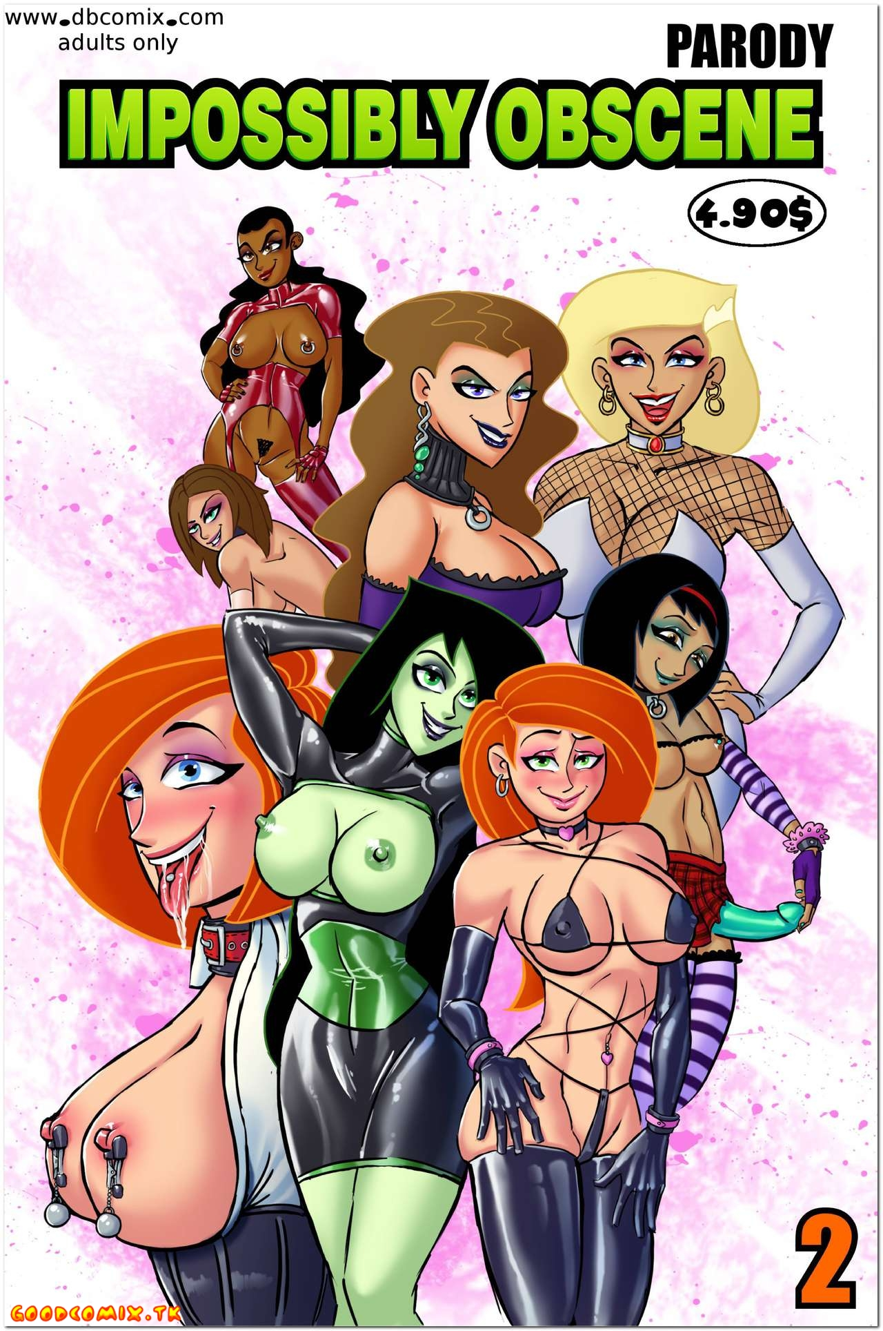 Goodcomix.tk Kim Possible - [dbcomix] - Impossily Obscene 2