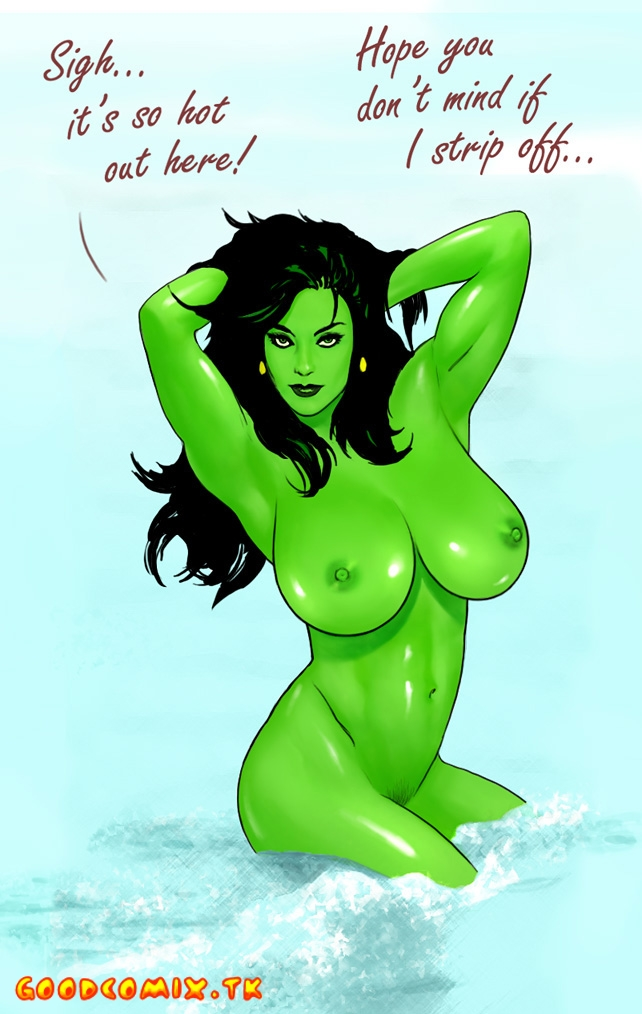 Goodcomix She-Hulk - Little Power Boy