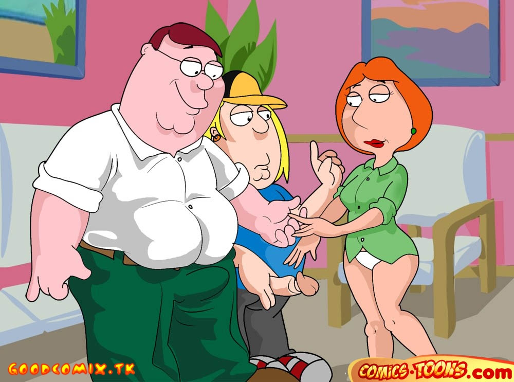 Goodcomix Family Guy - [Comics-Toons] - Mom And The Boys [FULL]