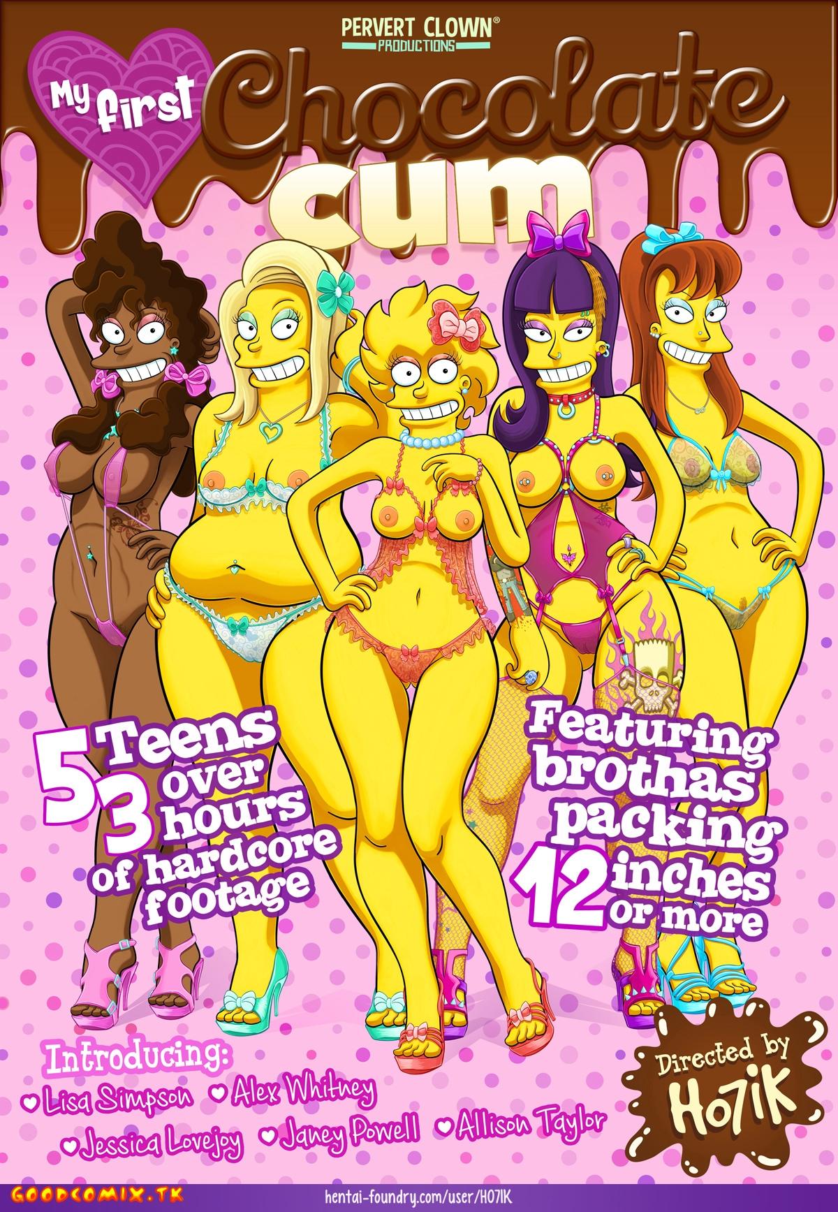 Goodcomix The Simpsons - [Yb-Ho7ik] - My First Chocolate Cum