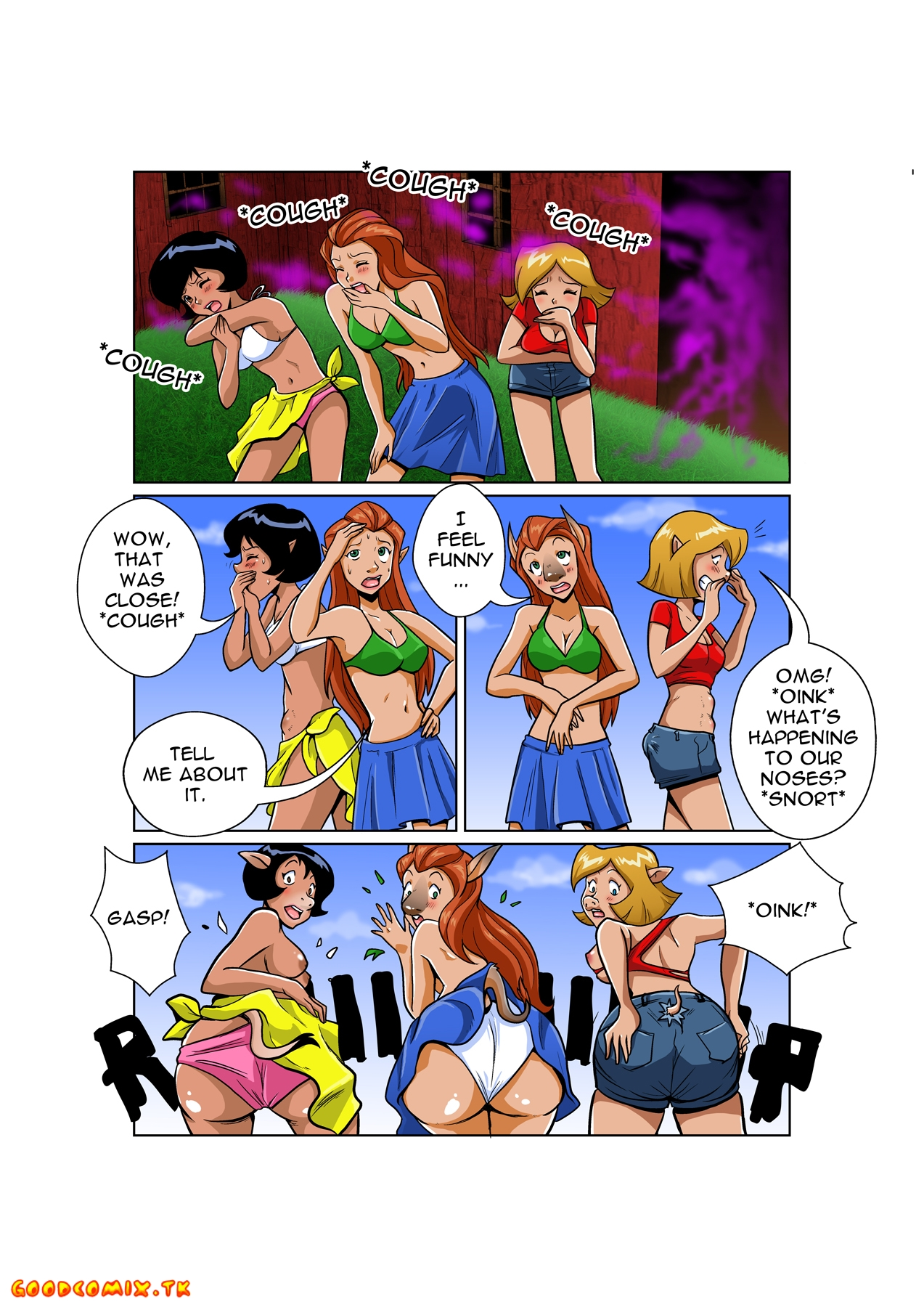 Goodcomix Totally Spies - [Jitensha] - Totally Barn Animals