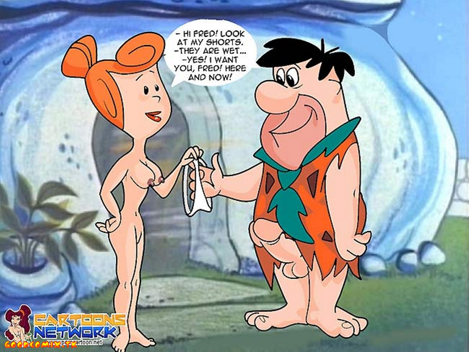 fred flintstone sex video