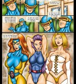X-Men — [Drawn-Sex] — X-Men Girls