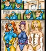 X-Men — [Drawn-Sex] — X-Men Girls