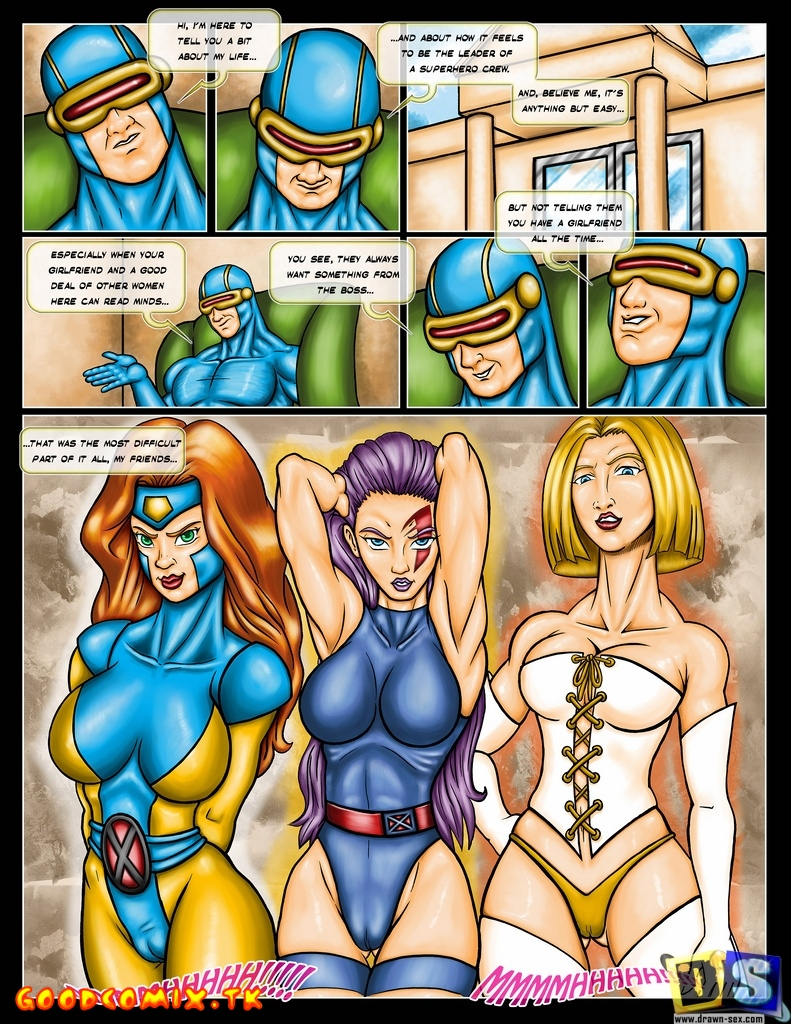 Goodcomix X-Men - [Drawn-Sex] - X-Men Girls