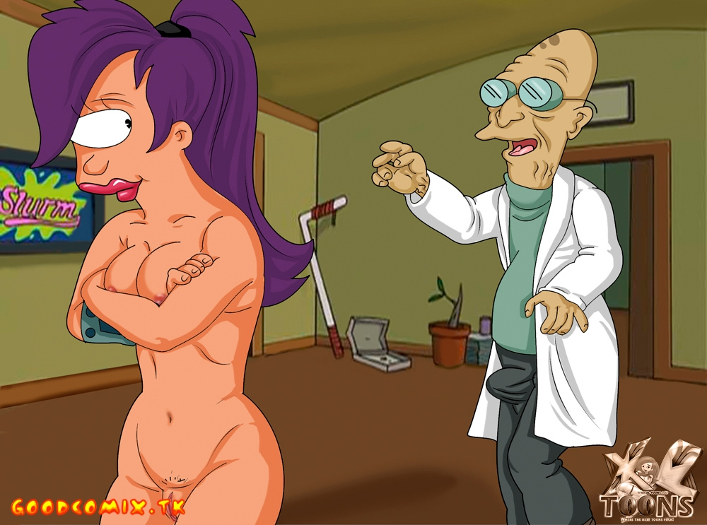 Goodcomix Futurama - [XL-Toons] - Come Here