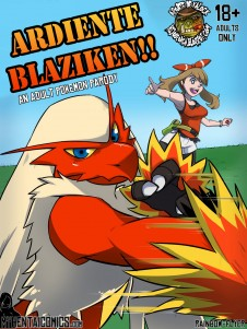 Goodcomix Pokemon - [Rainbow Flyer] - Blaziken Burst!!
