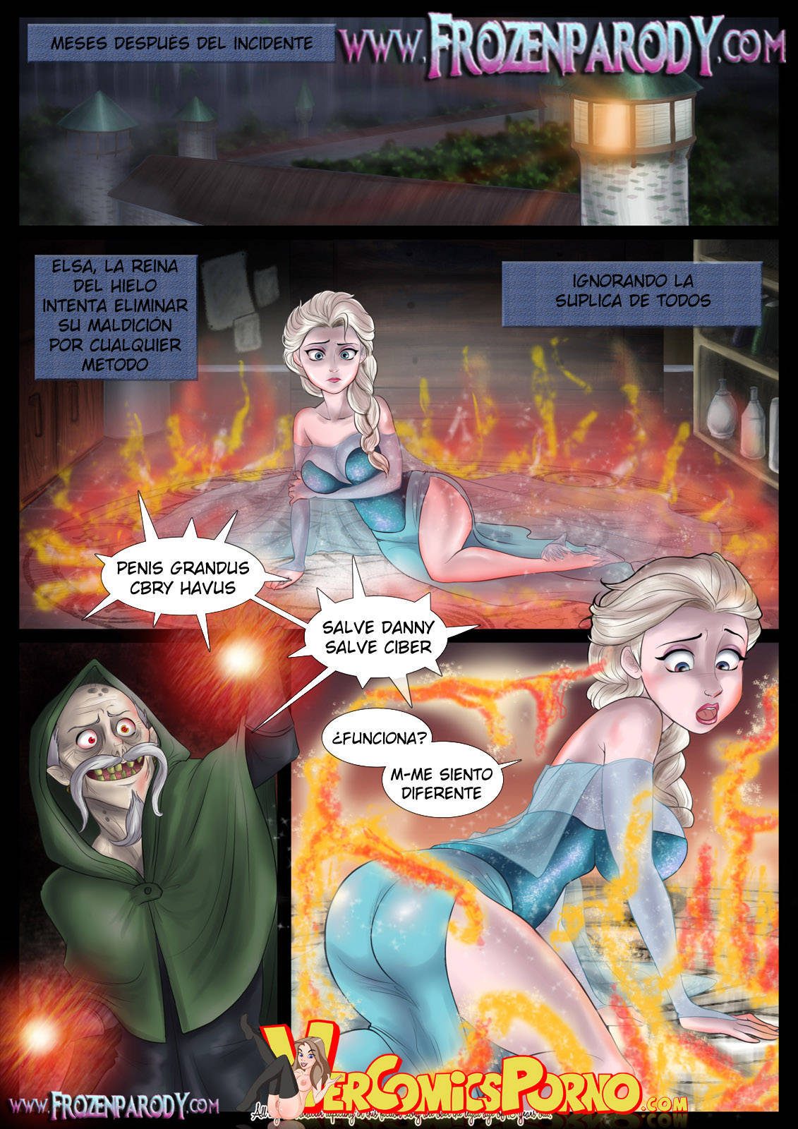 Goodcomix.tk Frozen - [FrozenParody] - Complete Transformation
