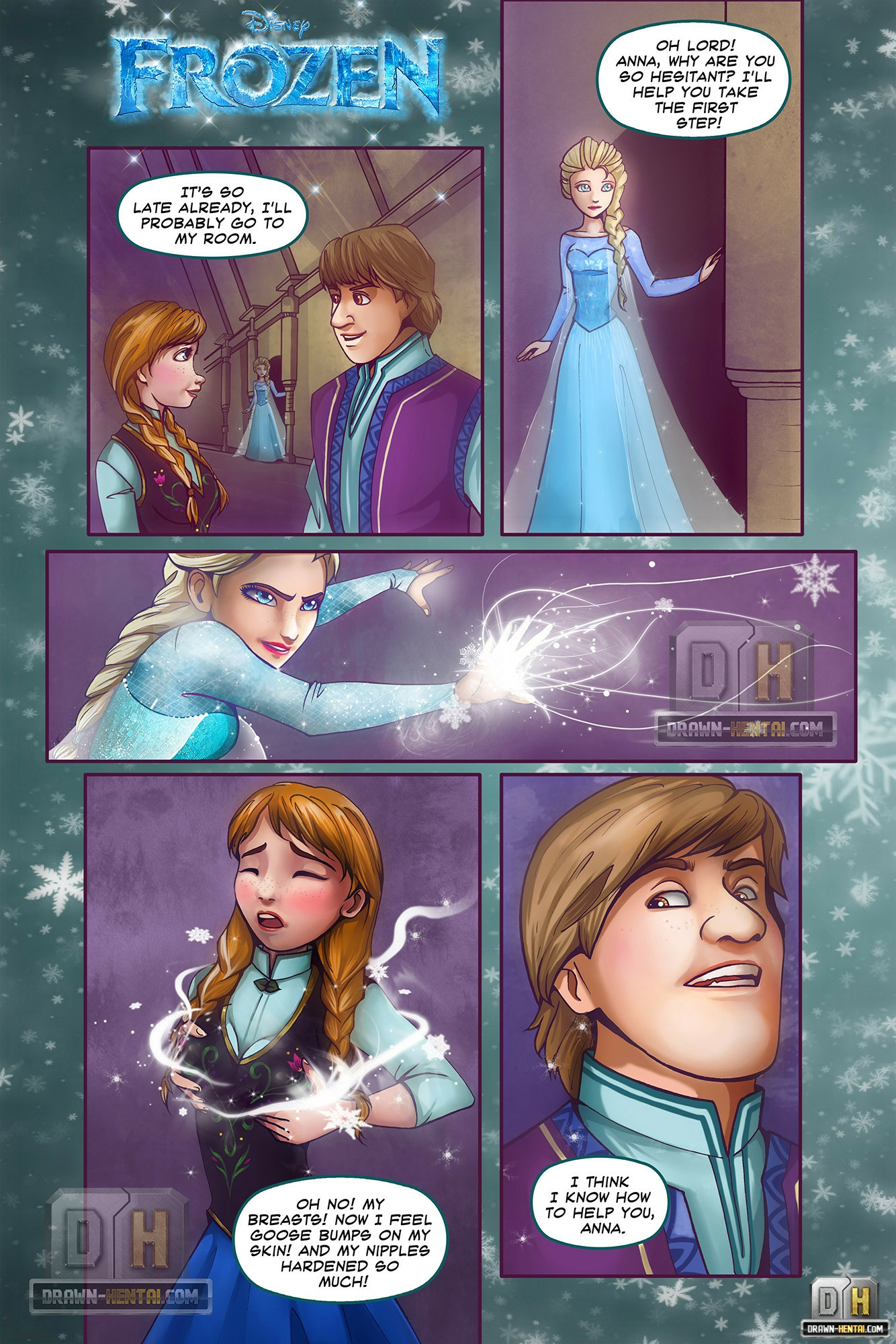 Goodcomix.tk Frozen - [Drawn Hentai] - Disney Frozen