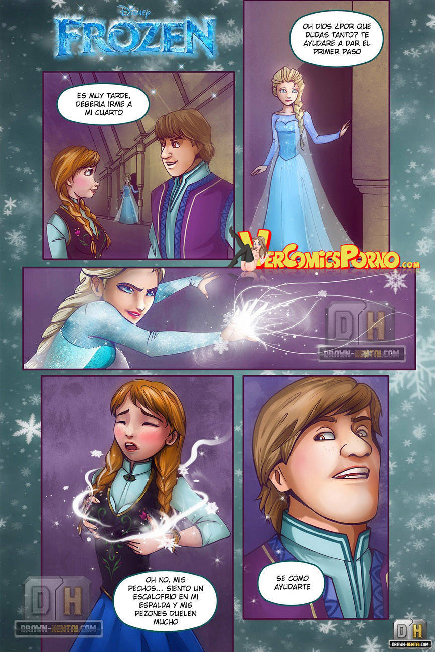 Goodcomix Frozen - [Drawn Hentai] - Disney Frozen