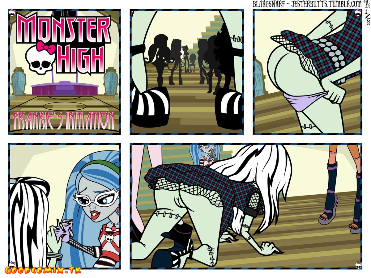 Goodcomix Monster High - [Blargsnarf] - Frankie's Initiation