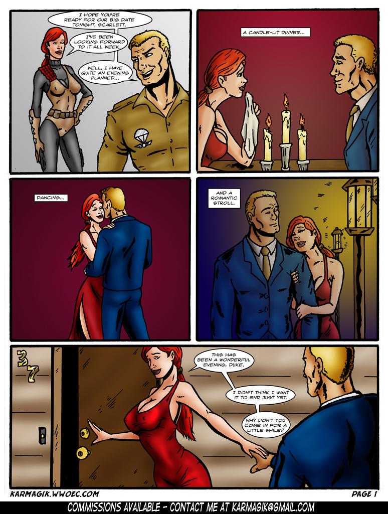 Goodcomix G.I. Joe - [Karmagik] - G.I. Joe BDSM [PARTS 1-4]