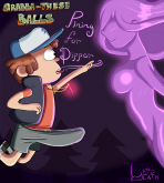 Gravity Falls — [kiddeathx] — Grabba-These Balls Pining For Dipper
