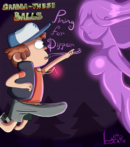 Goodcomix Gravity Falls - [kiddeathx] - Grabba-These Balls Pining For Dipper