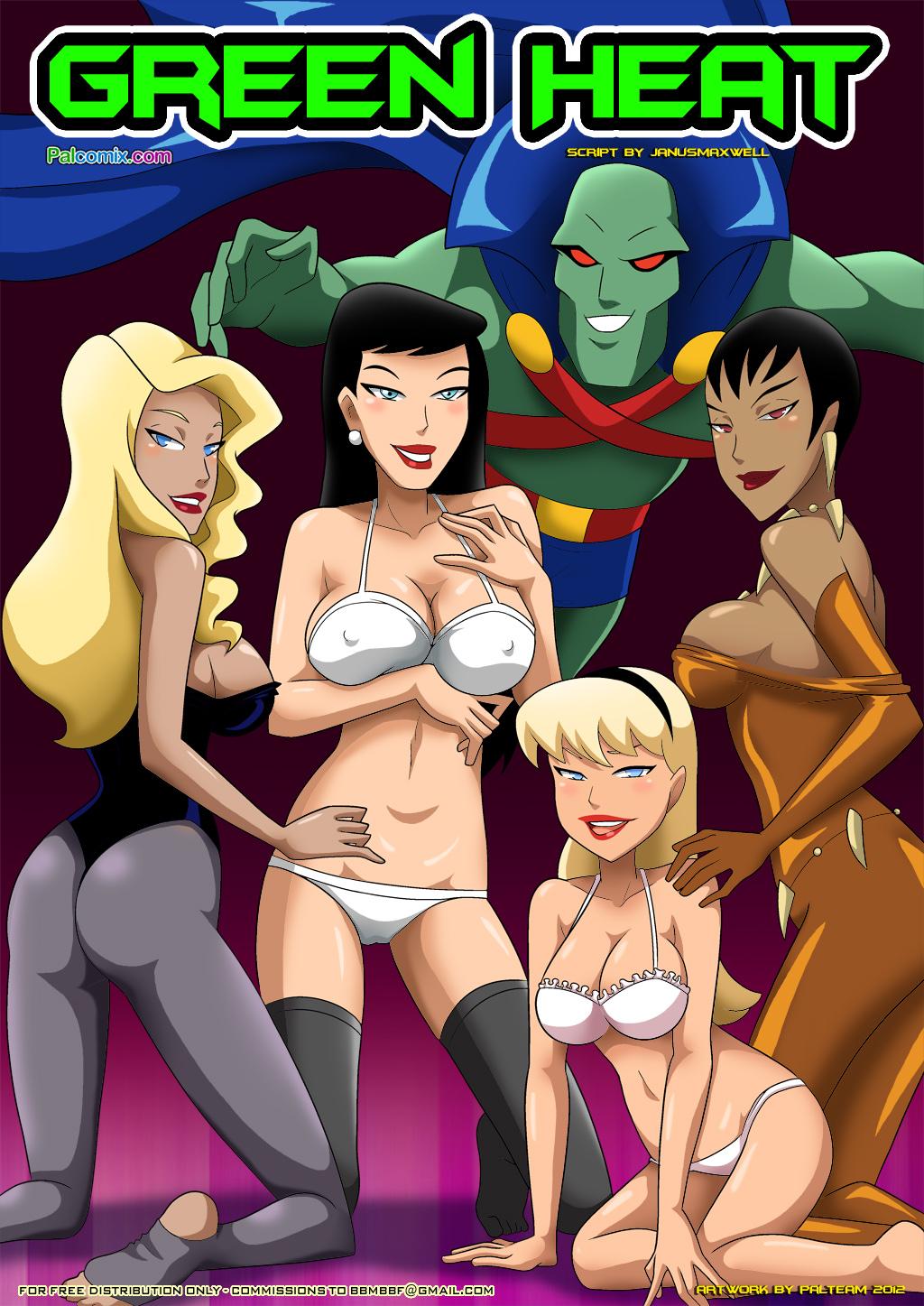 Goodcomix Justice League - [Palcomix] - Green Heat