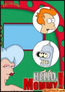 Goodcomix Futurama - [Comics-Toons] - Hello Mommy