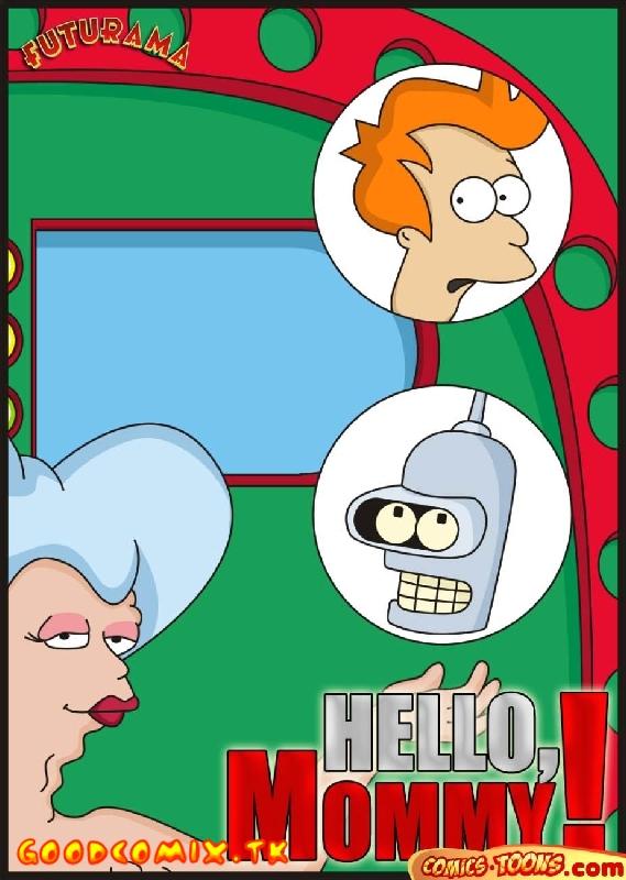 Goodcomix.tk Futurama - [Comics-Toons] - Hello Mommy