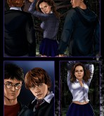 Harry Potter — [Sinful Comics] — Hermione In A Dark Forest
