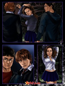 Goodcomix Harry Potter - [Sinful Comics] - Hermione In A Dark Forest