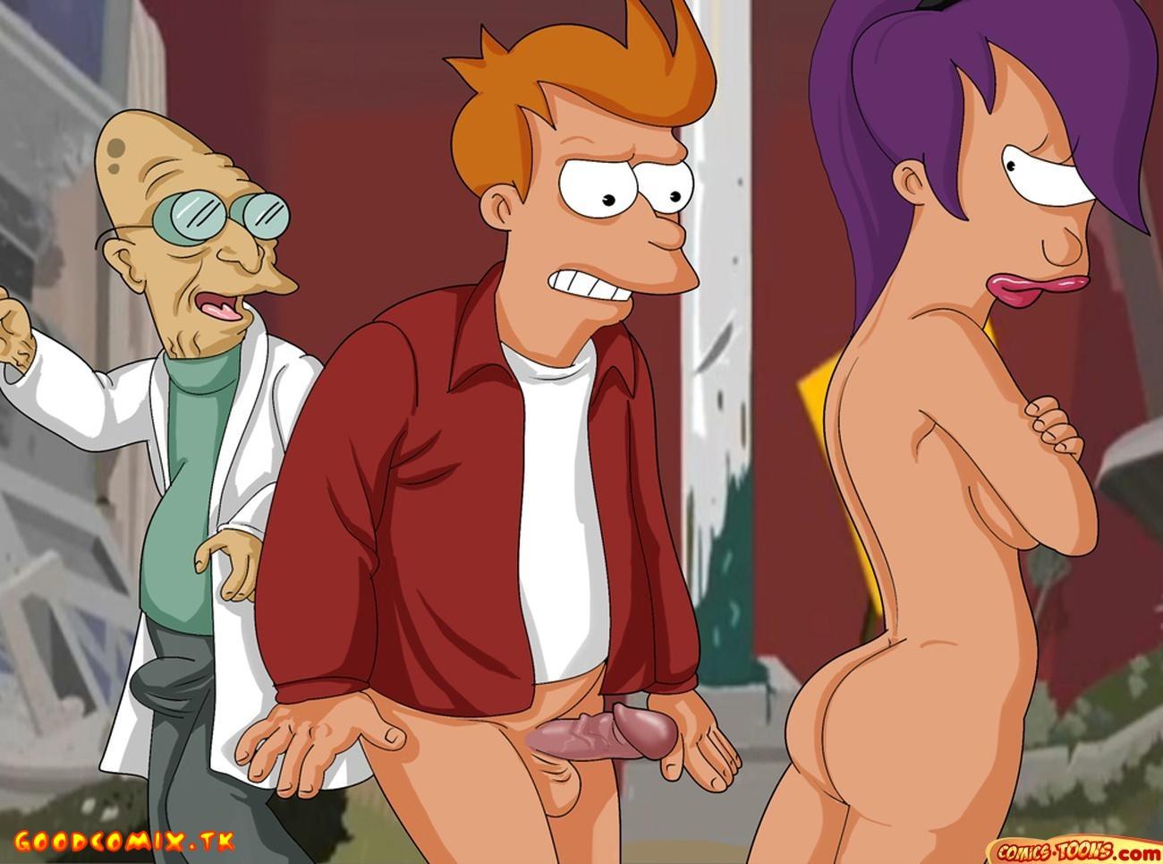 Goodcomix Futurama - [Comics-Toons] - How Lift Your Spirits [NOT FULL]