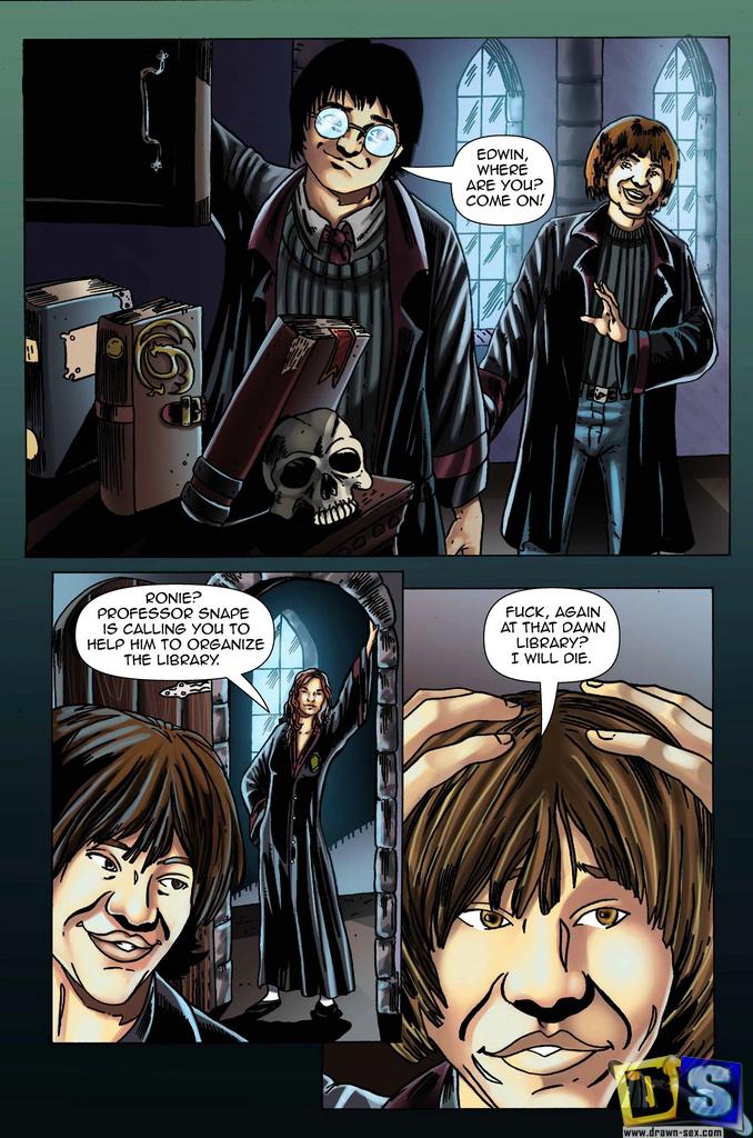 Goodcomix.tk Harry Potter - [Drawn-Sex] - Lesson Transformation