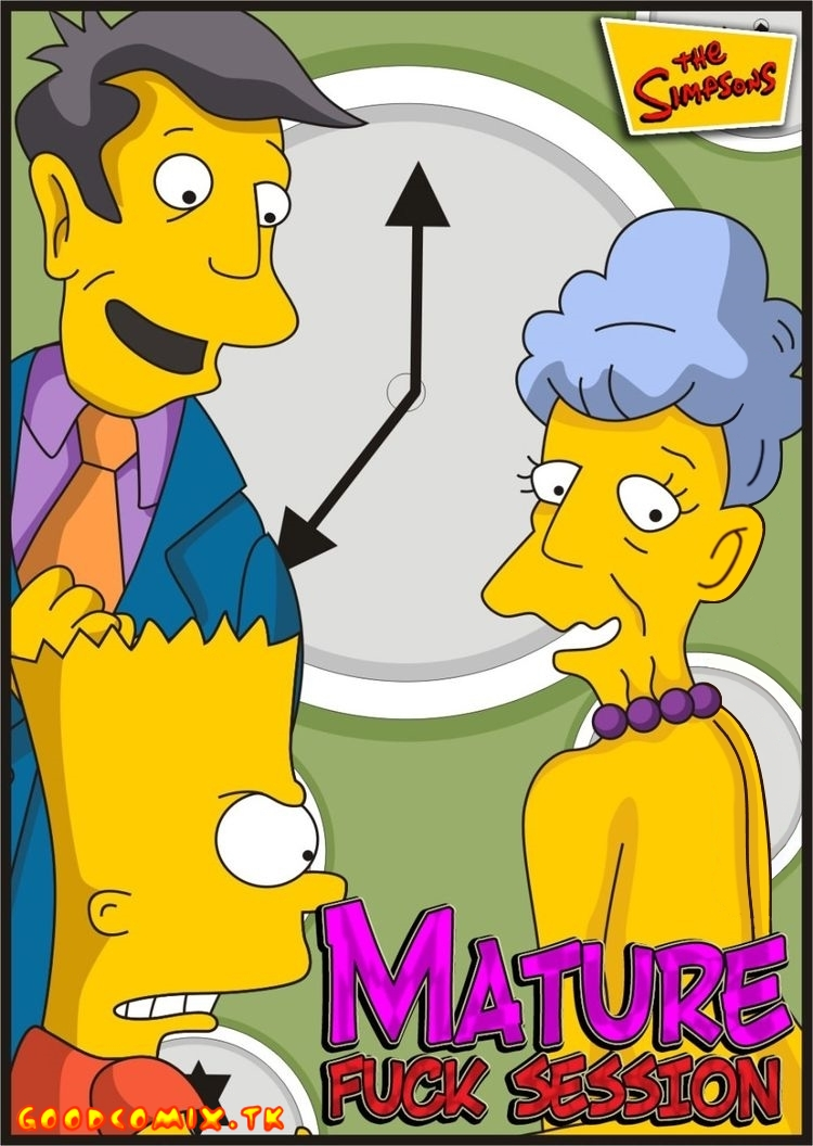 Goodcomix The Simpsons - [Comics-Toons] - Mature Fuck Session