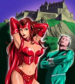 X-Men — [Online SuperHeroes] — Scarlet Witch and Quicksilver Have The Kinkiest Sex Ever!
