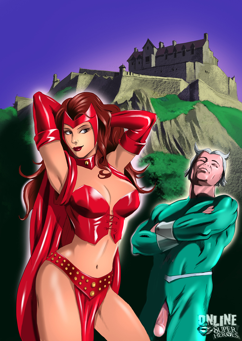 Goodcomix.tk X-Men - [Online SuperHeroes] - Scarlet Witch and Quicksilver Have The Kinkiest Sex Ever!