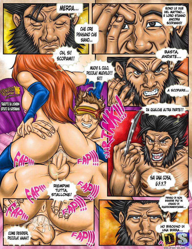 Goodcomix.tk X-Men - [Drawn-Sex] - All Fuck