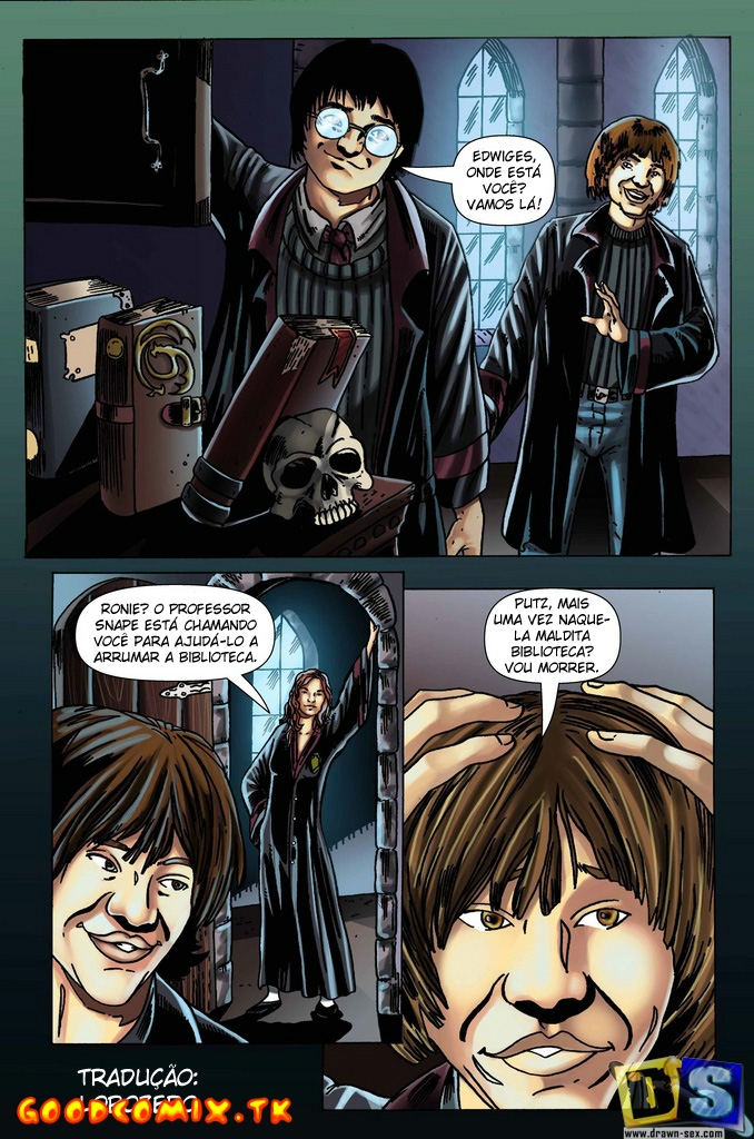 Goodcomix.tk Harry Potter - [Drawn-Sex] - Lesson Transformation