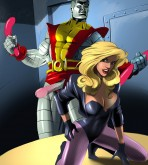 X-Men — [Online SuperHeroes] — Black Canary Getting Hardcore Anal Sex Аrom Colossus