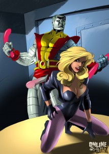 Goodcomix X-Men - [Online SuperHeroes] - Black Canary Getting Hardcore Anal Sex Аrom Colossus