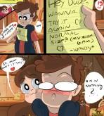 Gravity Falls — [Ounpaduia] — Gettin´Dipper #2