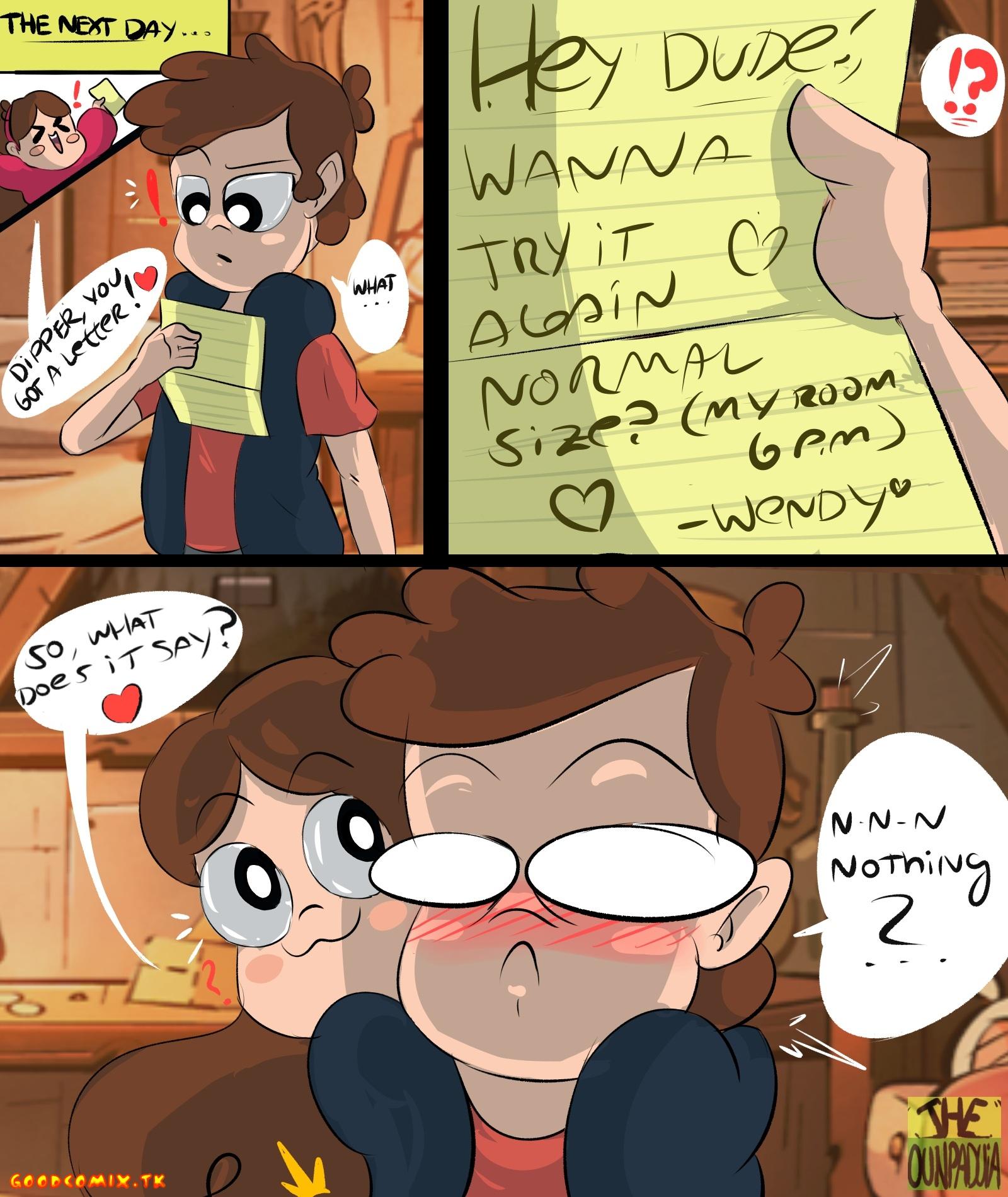 Goodcomix.tk Gravity Falls - [Ounpaduia] - Gettin´Dipper #2