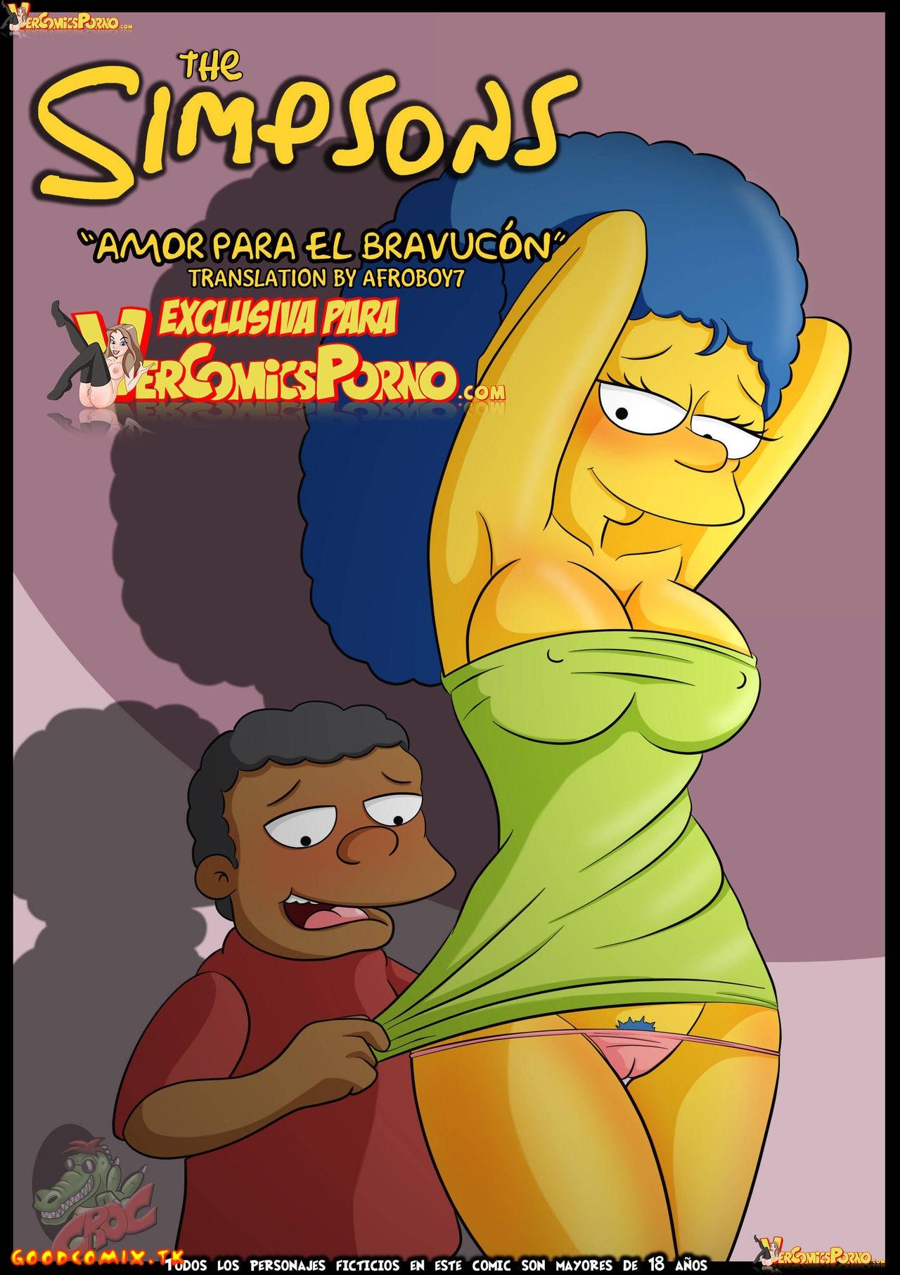 Goodcomix.tk The Simpsons - [VerComicsPorno][Croc] - Amor Para El Bravucón - Love For The Bully