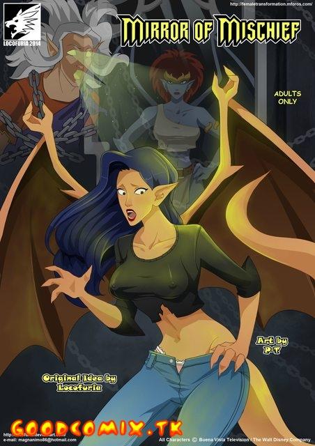 Goodcomix.tk Gargoyles - [Locofuria] - Mirrors of Mischief