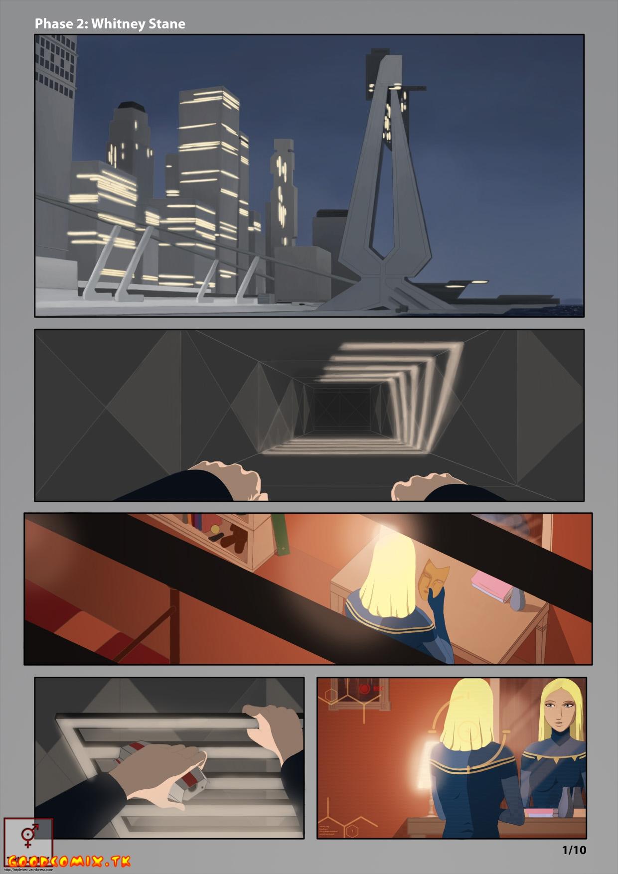 Goodcomix Iron Man - [Triplehex] - Armored Adventures - Phase 2 - Whitney Stane