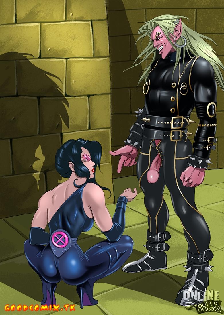 Goodcomix Crossover Heroes - [Online SuperHeroes] - Sage Having Wild Sex With Wild Child