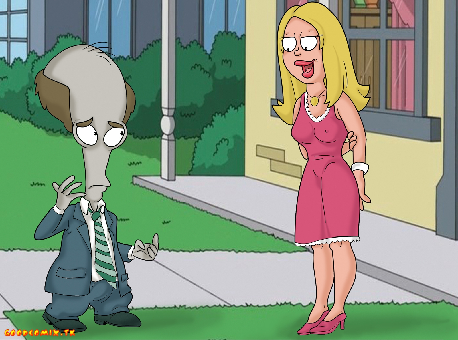 Goodcomix.tk American Dad - [XL-Toons] - The New Head Of The Family
